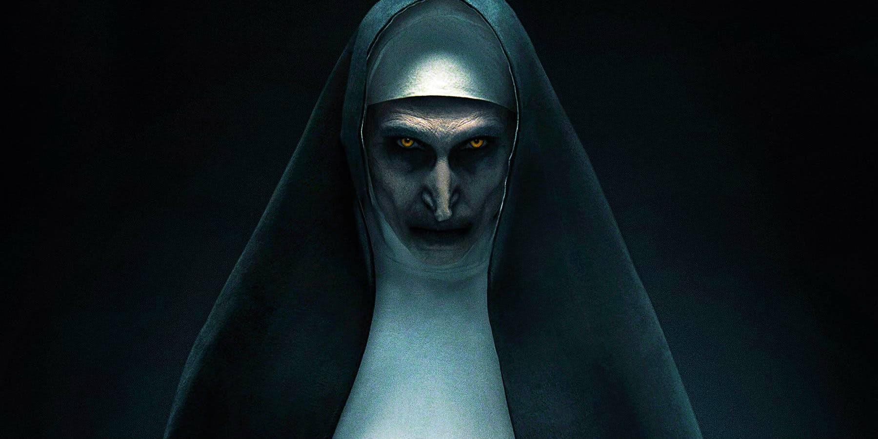 Свежий постер фильма ужасов «Проклятие монахини»