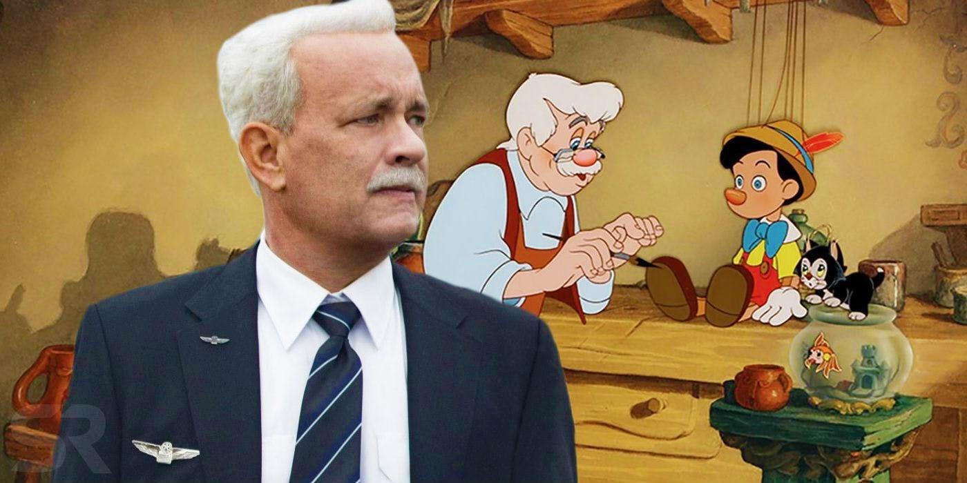 Том Хэнкc присматривается к фильму «Пиноккио»