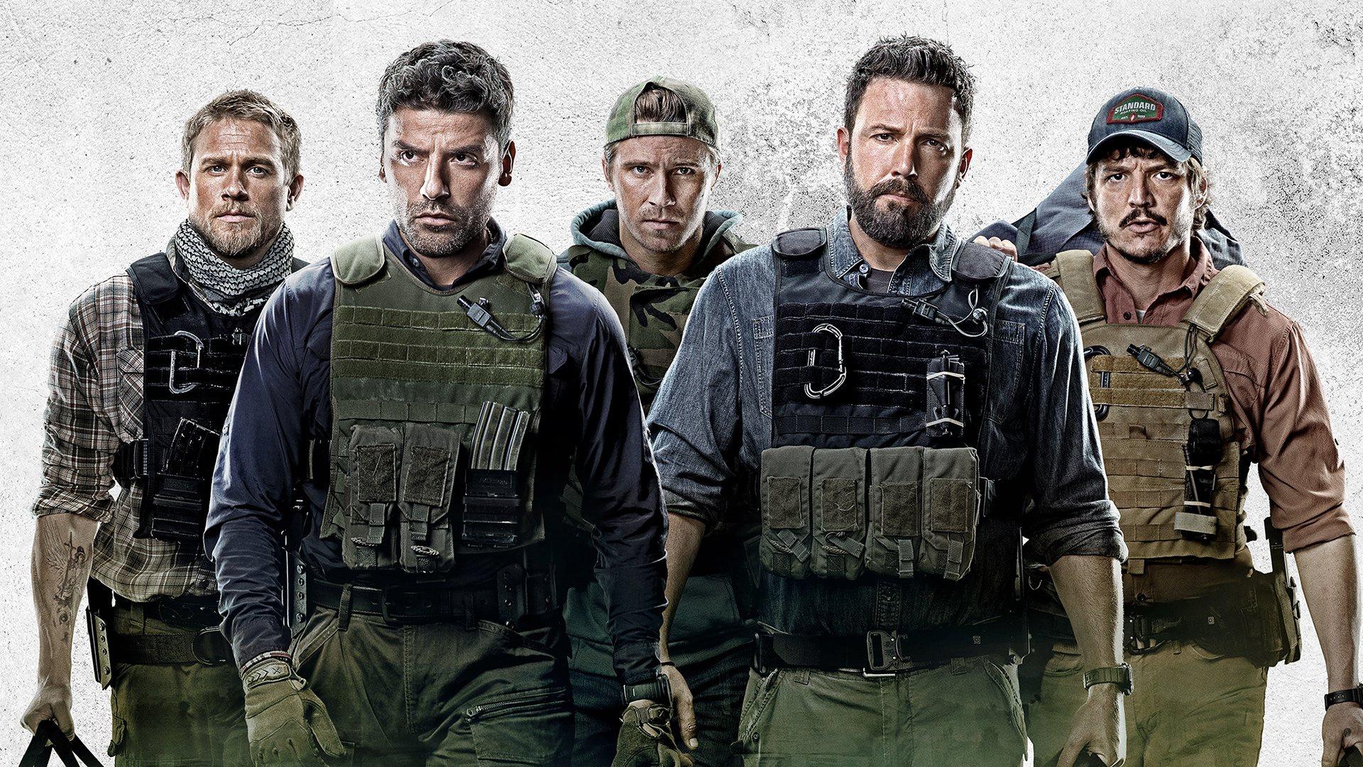 Бен Аффлек и его команда в отрывке из «Тройной границы»