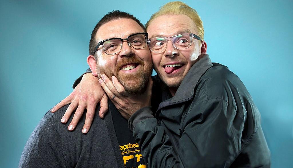 Саймон Пегг и Ник Фрост в новом тизере хоррора «Скотобойня рулит!»