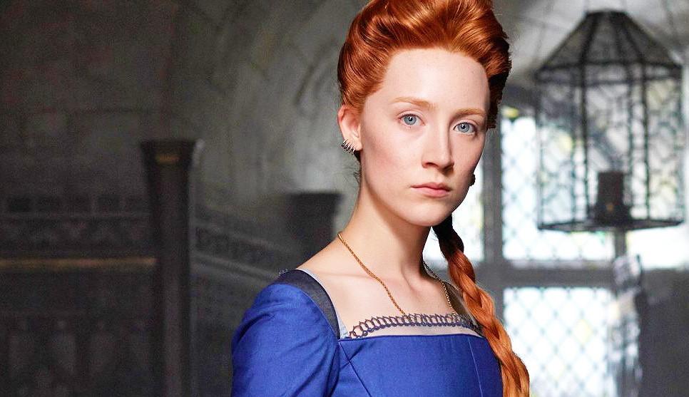 Сирша Ронан на кадре из фильма «Мария – королева Шотландии»