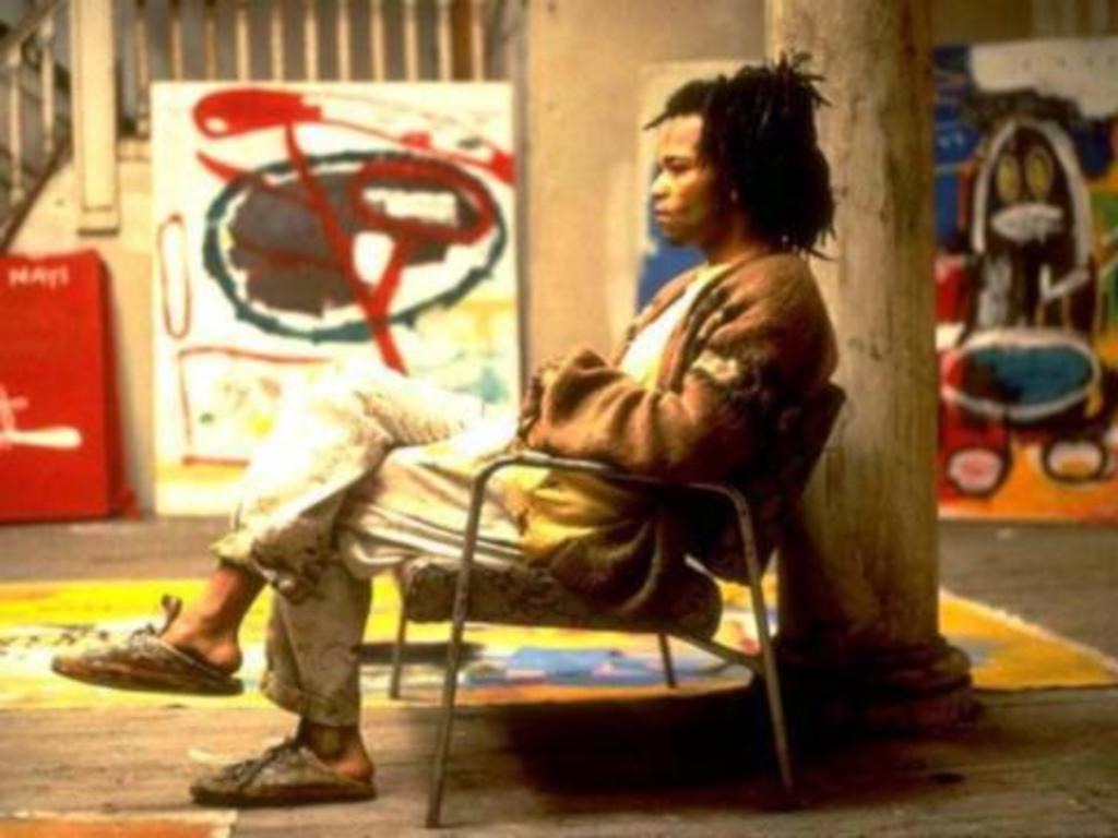 """Frame from the movie """"Basquiat"""""""
