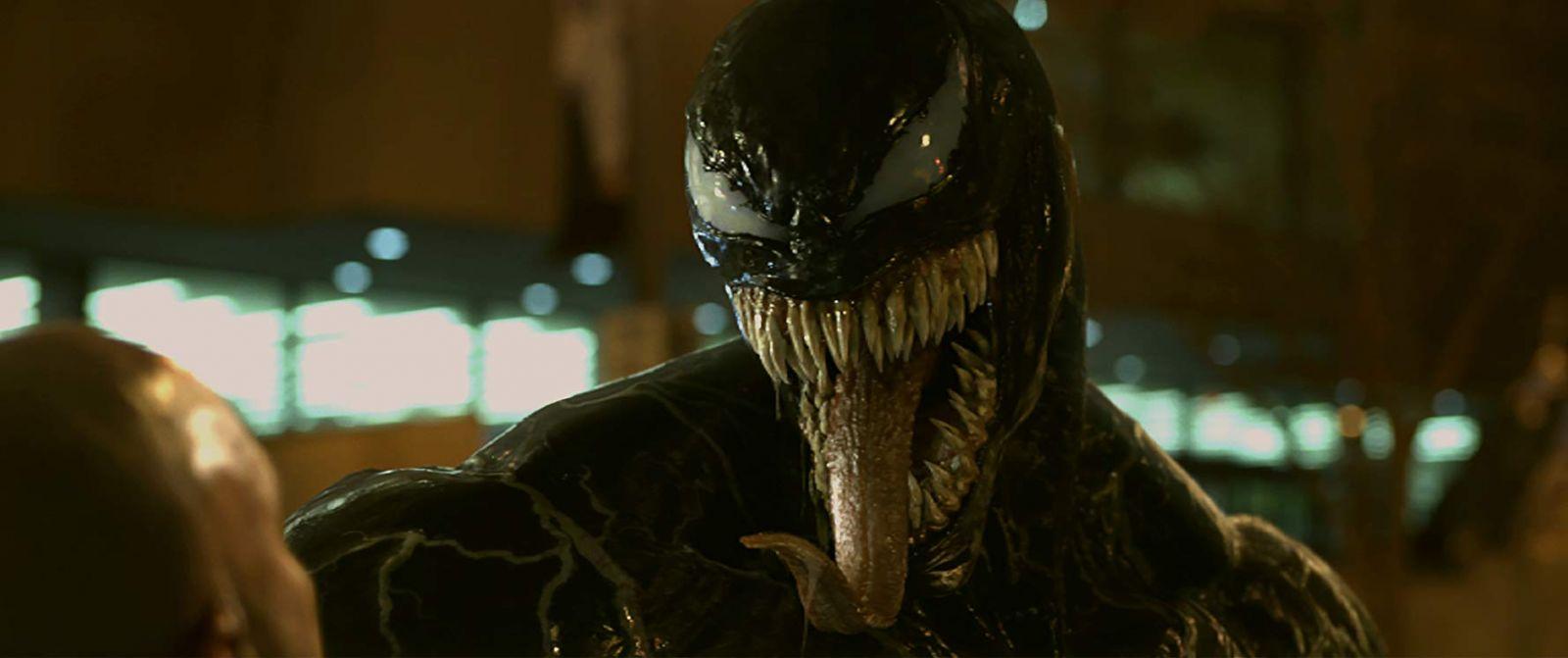 "Frame from the film ""Venom"""