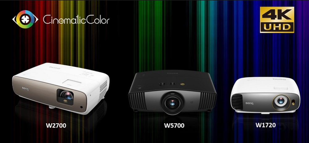 Презентация 4K DLP-видеопроекторов BenQ W2700 и W5700