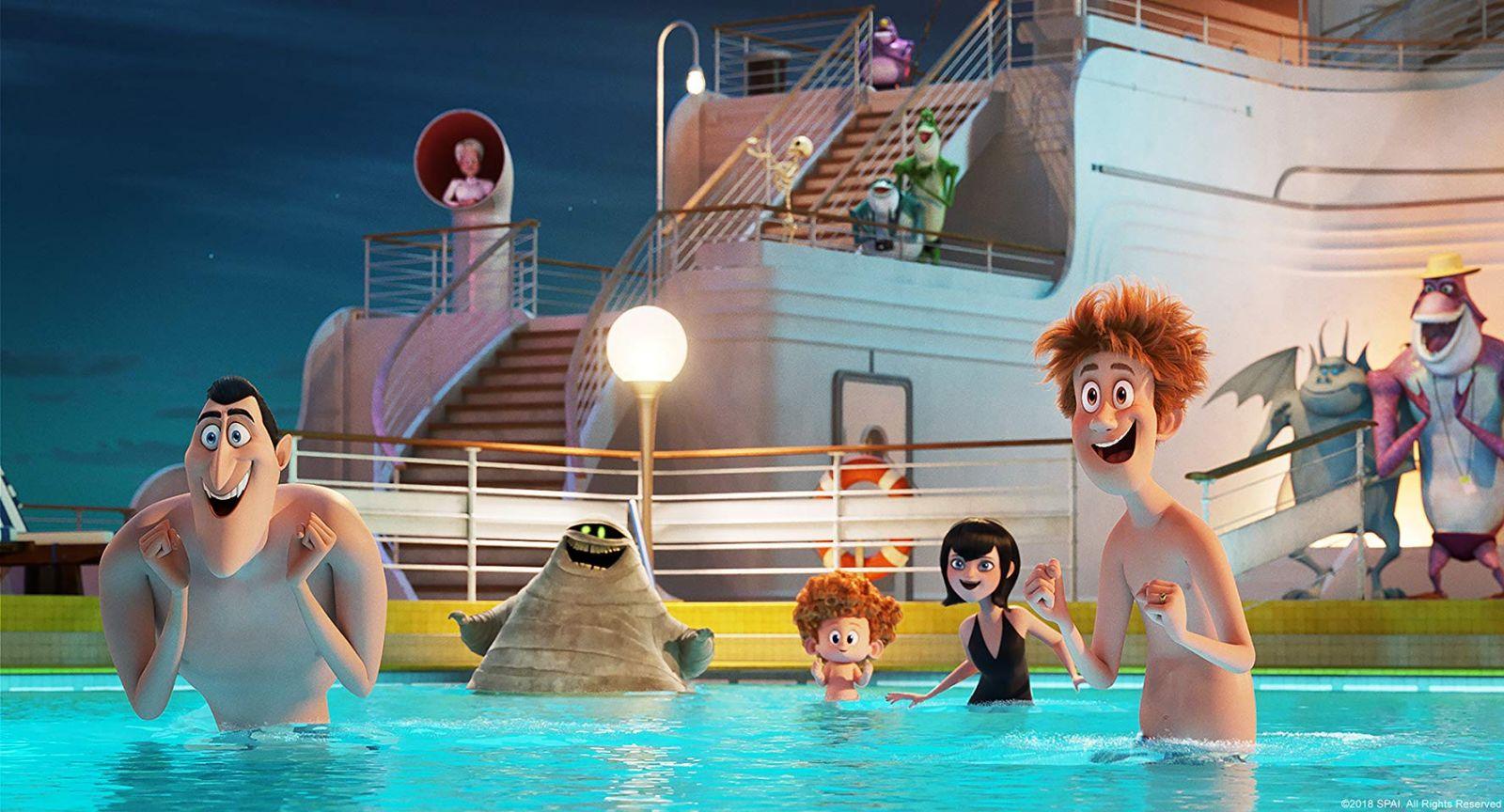 Кадр из мультфильма «Монстры на каникулах 3: Море зовет»