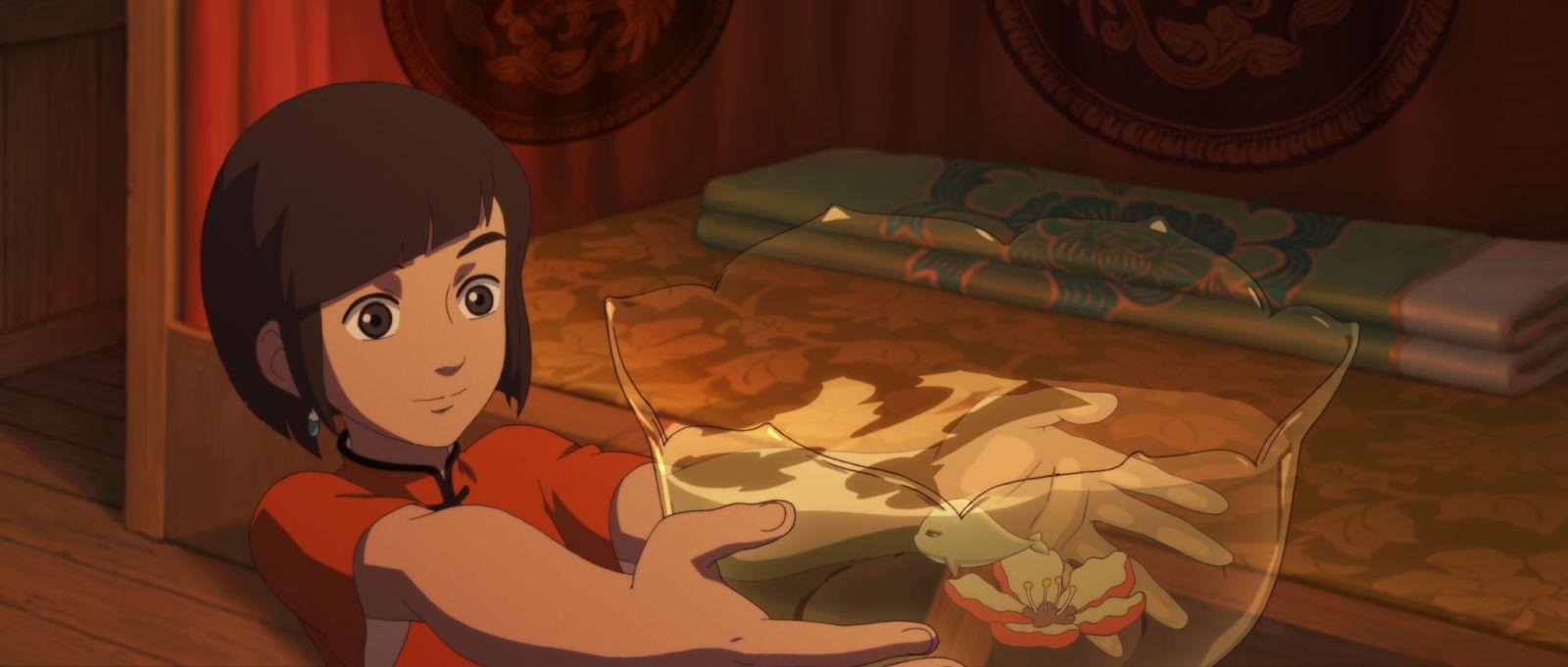 Кадр из мультфильма «По ту сторону океана»