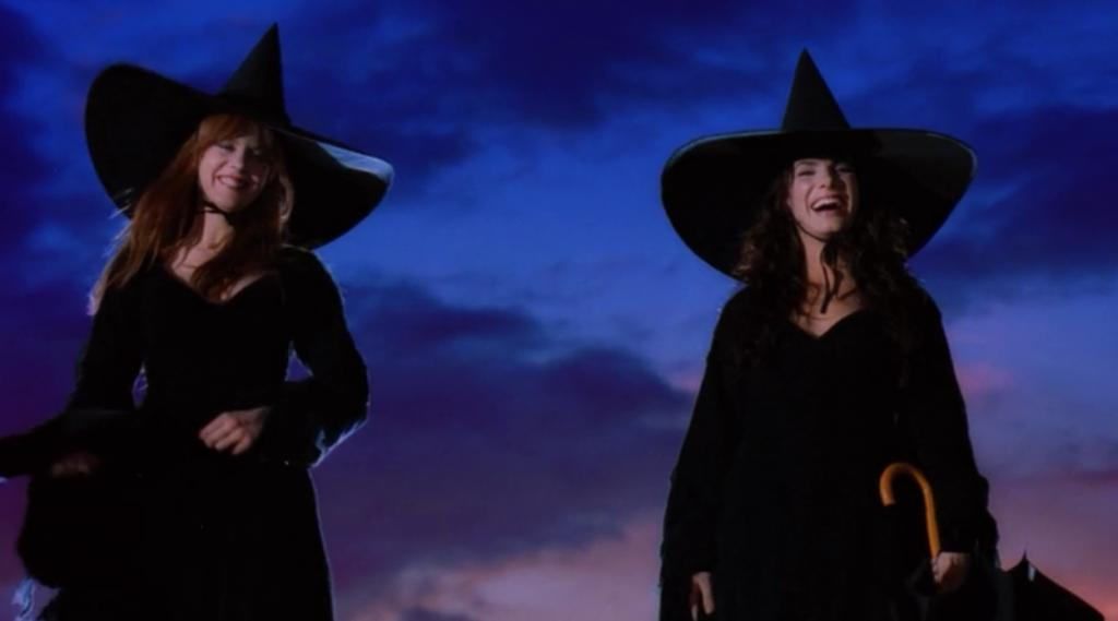"Shot from the film ""Practical Magic"""
