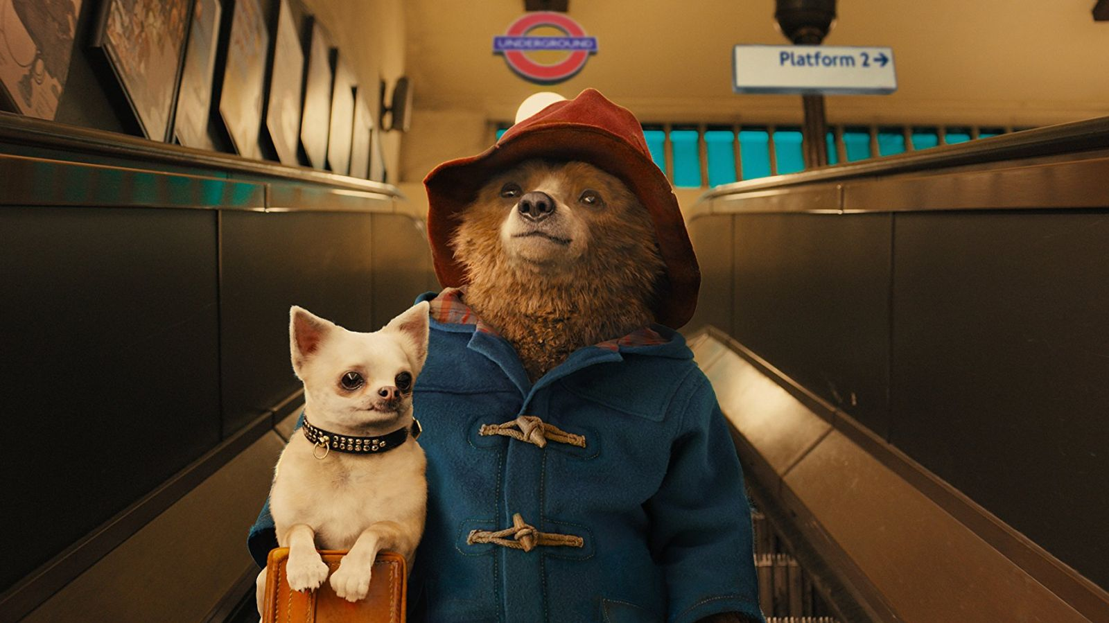 """Shot from the movie """"The Adventures of Paddington"""""""