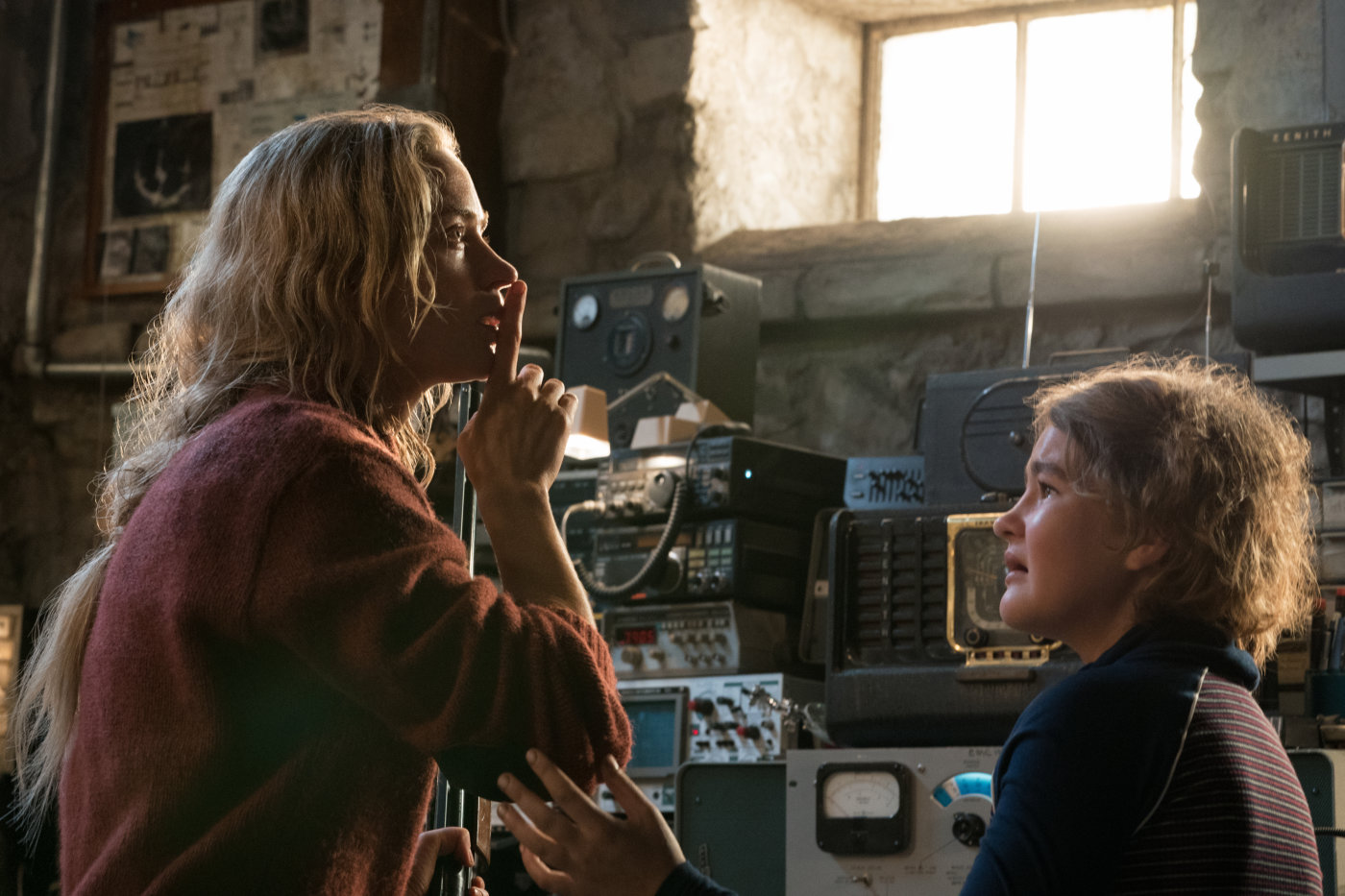 "Shot from the film ""Quiet Place"""