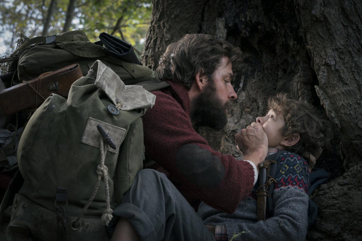 Кадр из фильма «Тихое место»