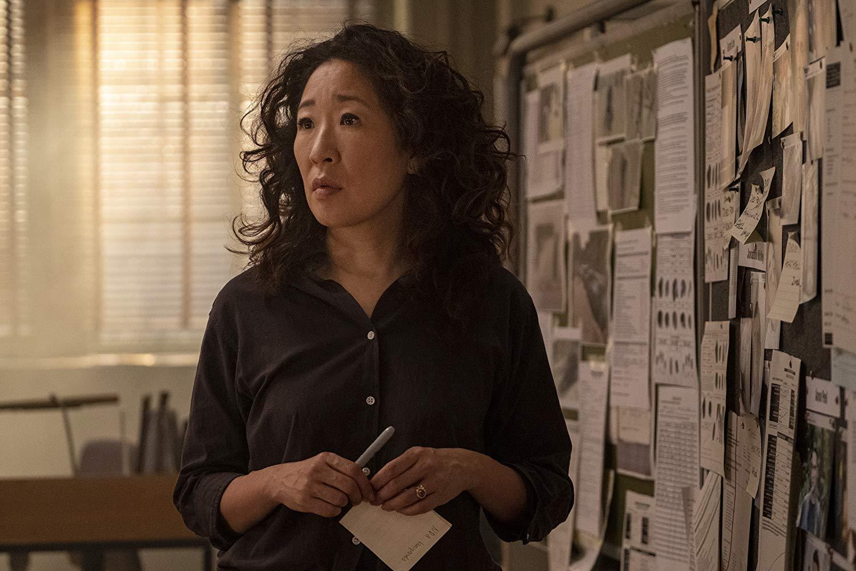 Кадр из сериала «Убивая Еву», 2 сезон
