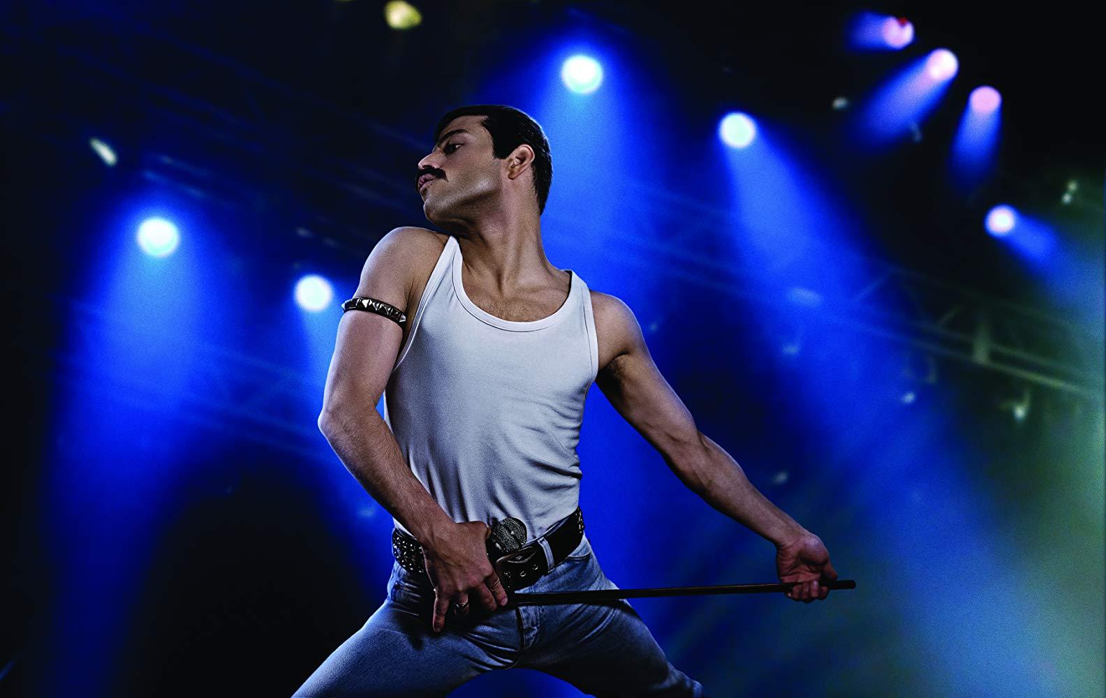 "Frame from the film ""Bohemian Rhapsody"""