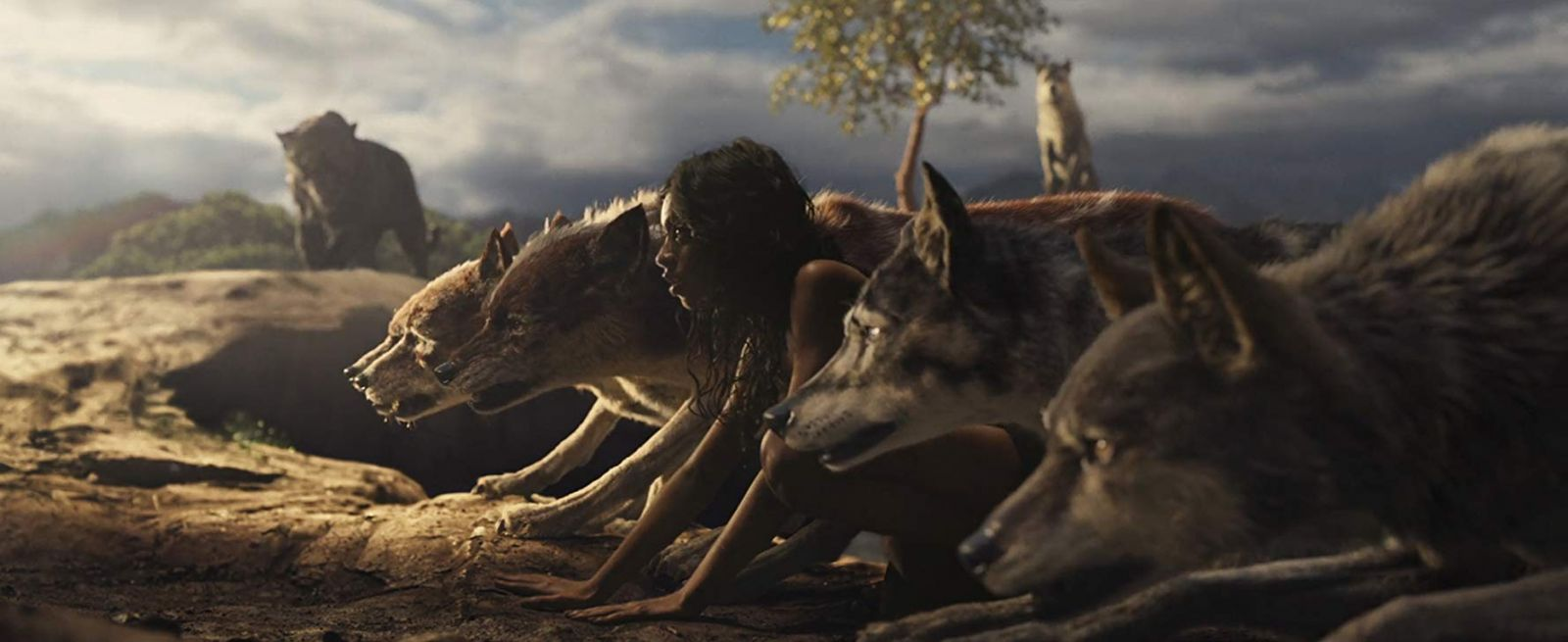"""Frame from the film """"Mowgli: The Legend of the Jungle"""""""