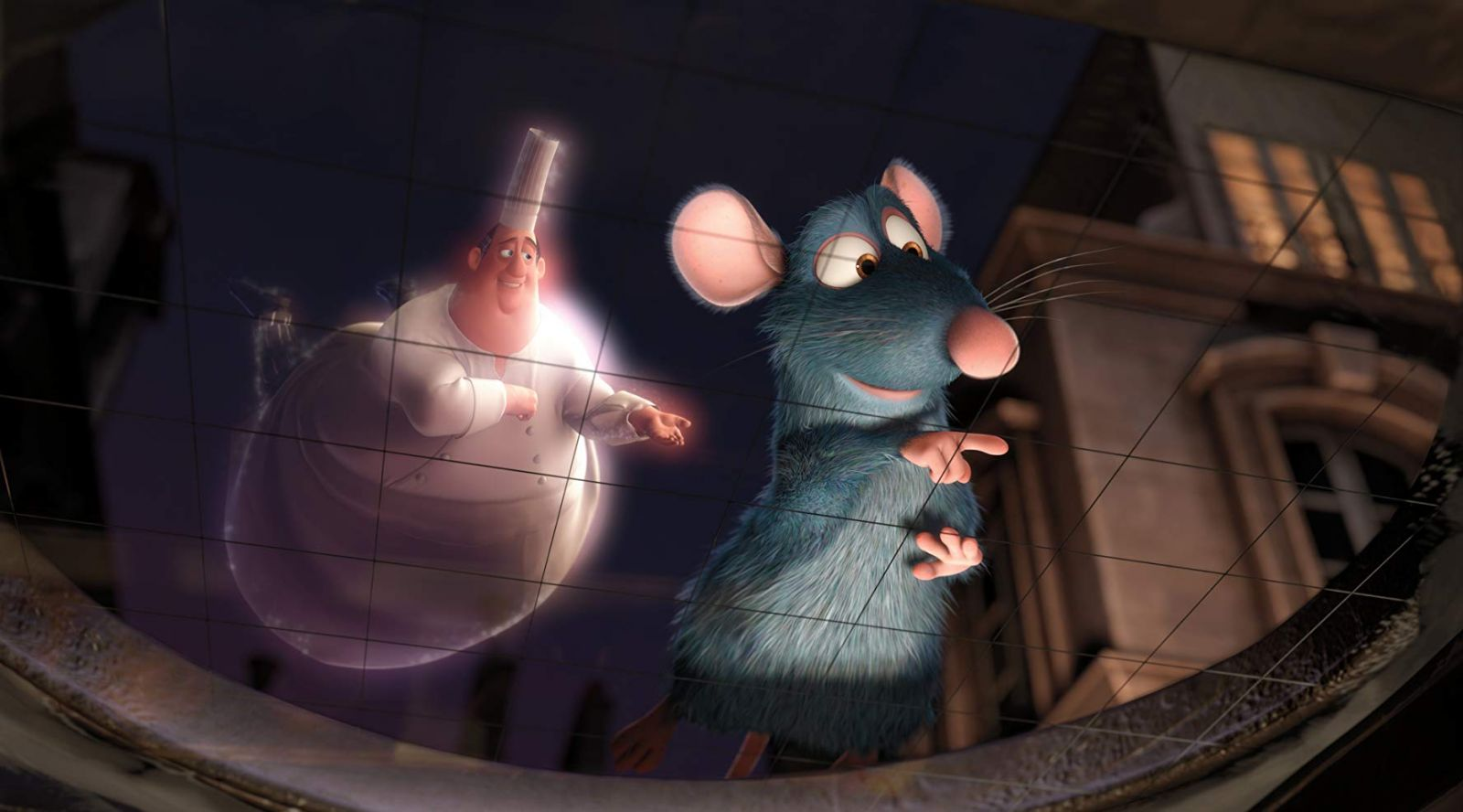 """Frame from the movie """"Ratatouille"""""""