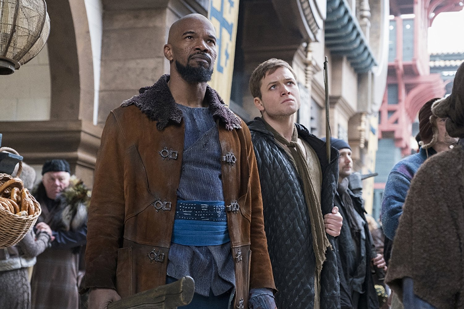 """Frame from the film """"Robin Hood: The Beginning"""""""