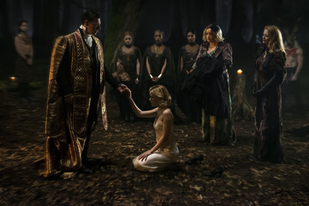 """Shot from the series """"Chilling Adventures of Sabrina"""""""