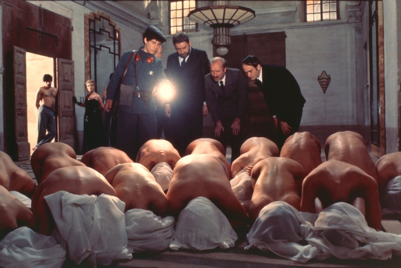 """Frame from the film """"Fat, or 120 days of Sodom"""""""