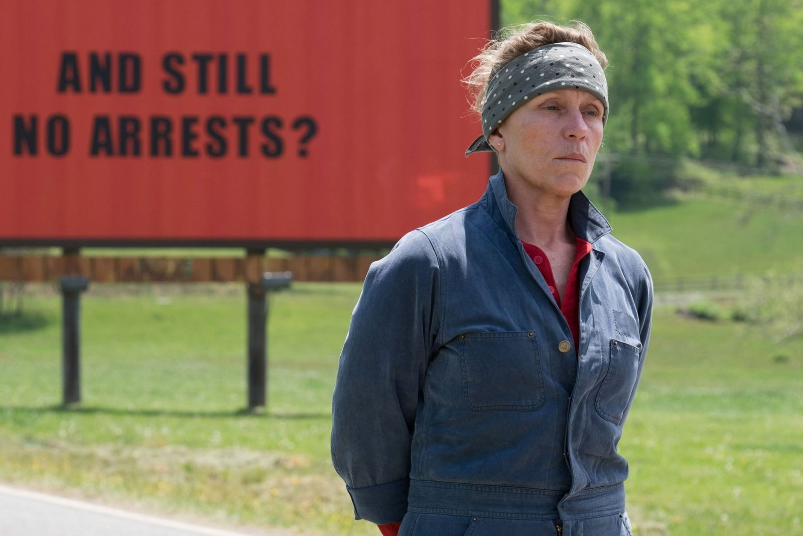 Mildred Hayes from The Three Billboards on the Border of Ebbing, Missouri
