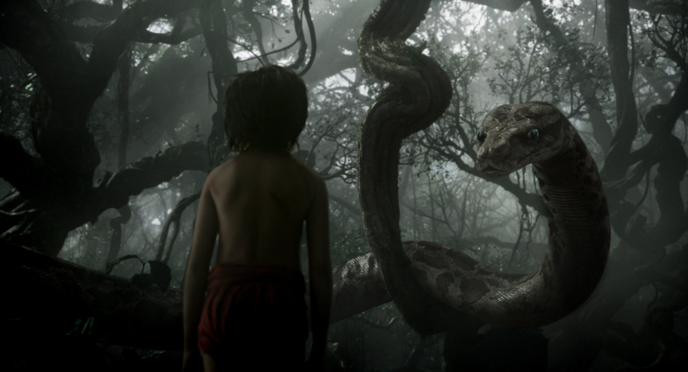 """Shot from the movie """"The Jungle Book"""""""