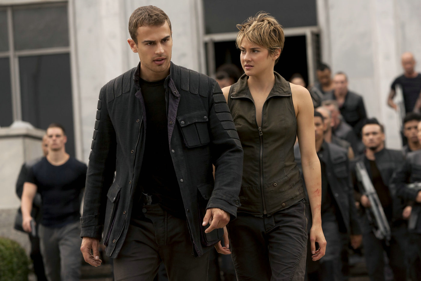 "Shot from the film ""Divergent, Chapter 2: Insurgent"""