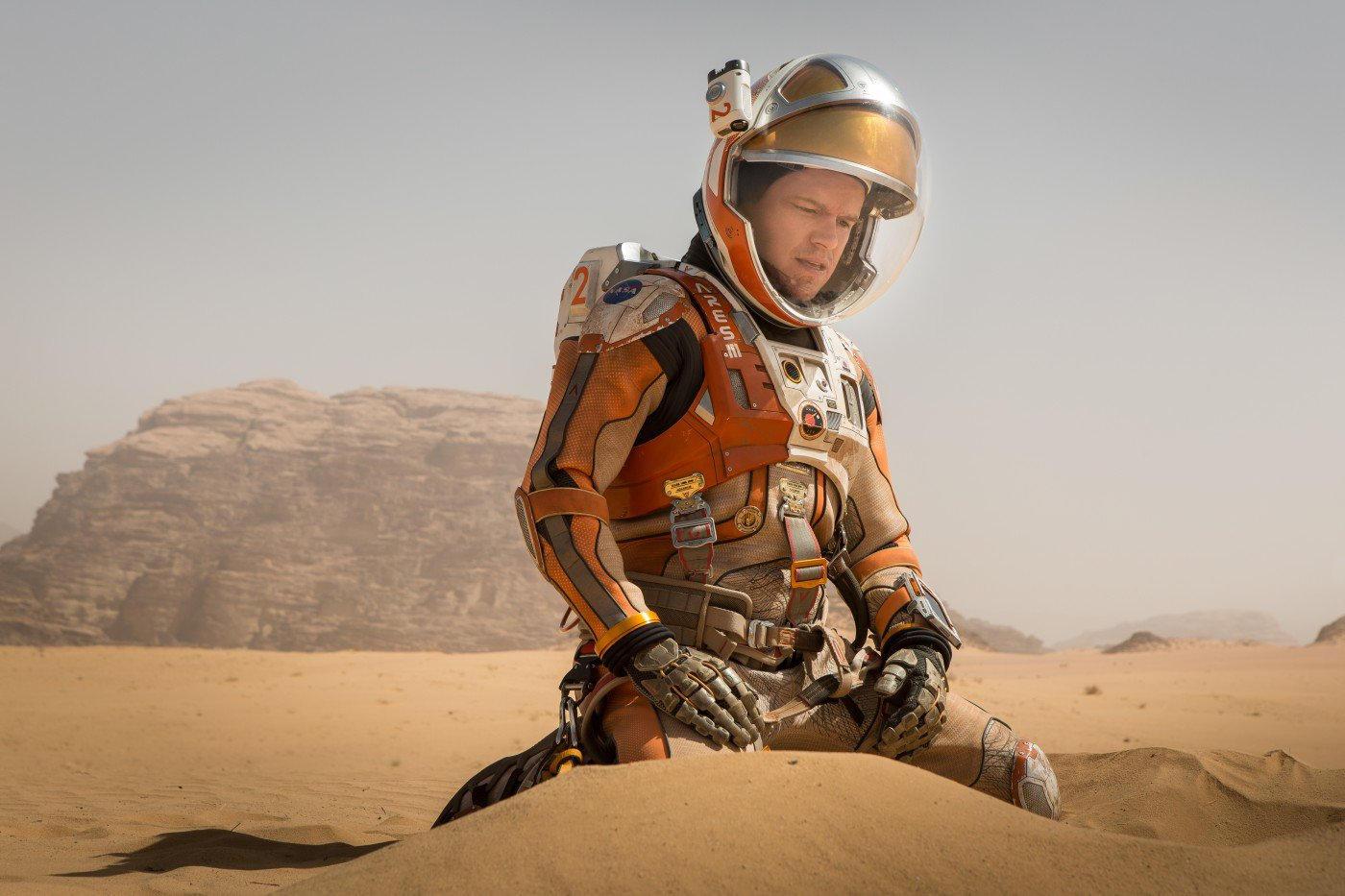 """Shot from the movie """"The Martian"""""""