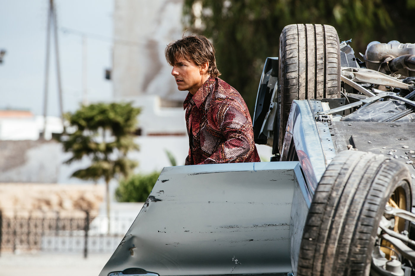 """Shot from the film """"Mission Impossible: Tribe of Outcasts"""""""
