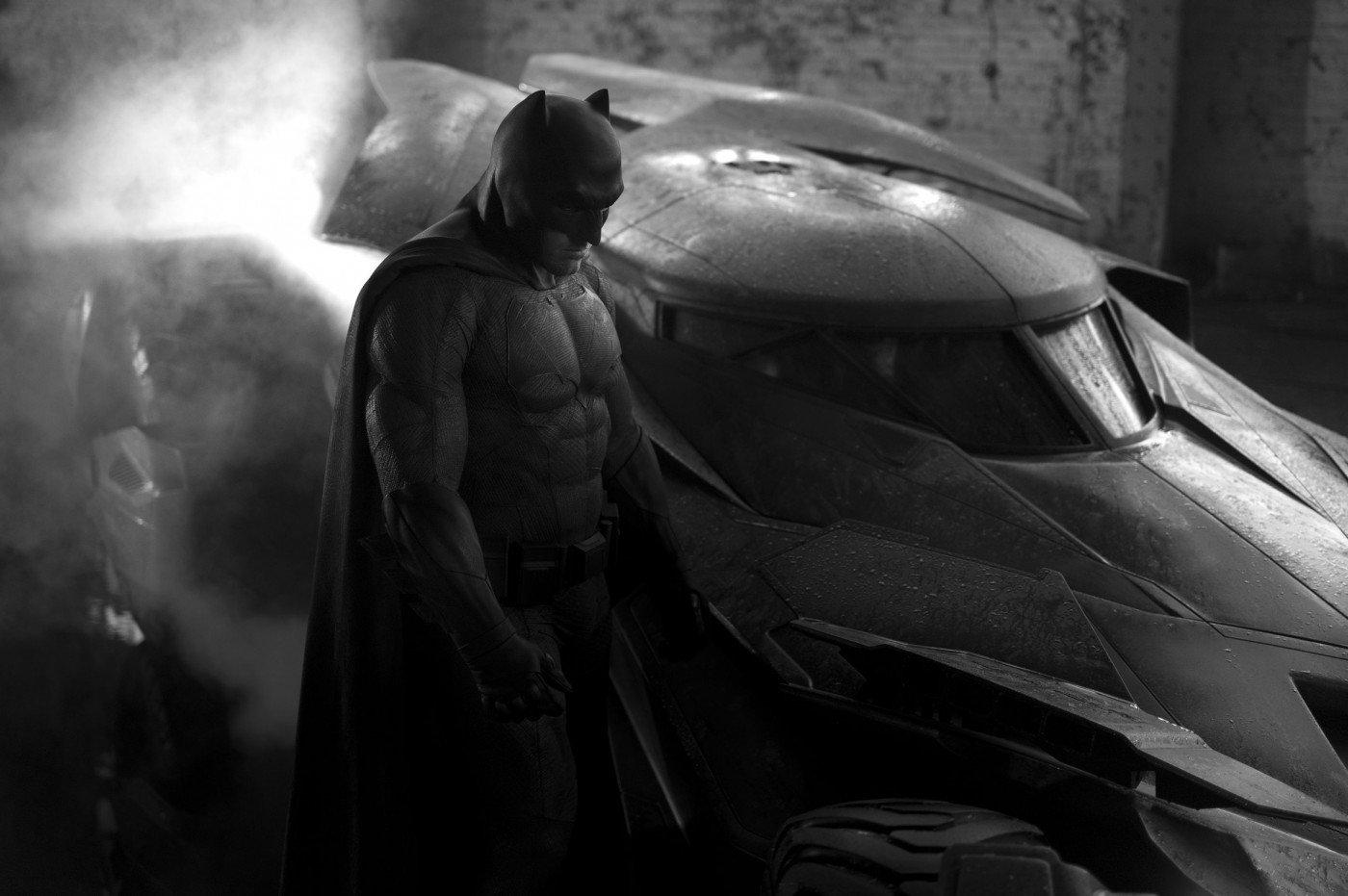 "Промо-кадр к фильму ""Бэтмен против Супермена: На заре справедливости"""