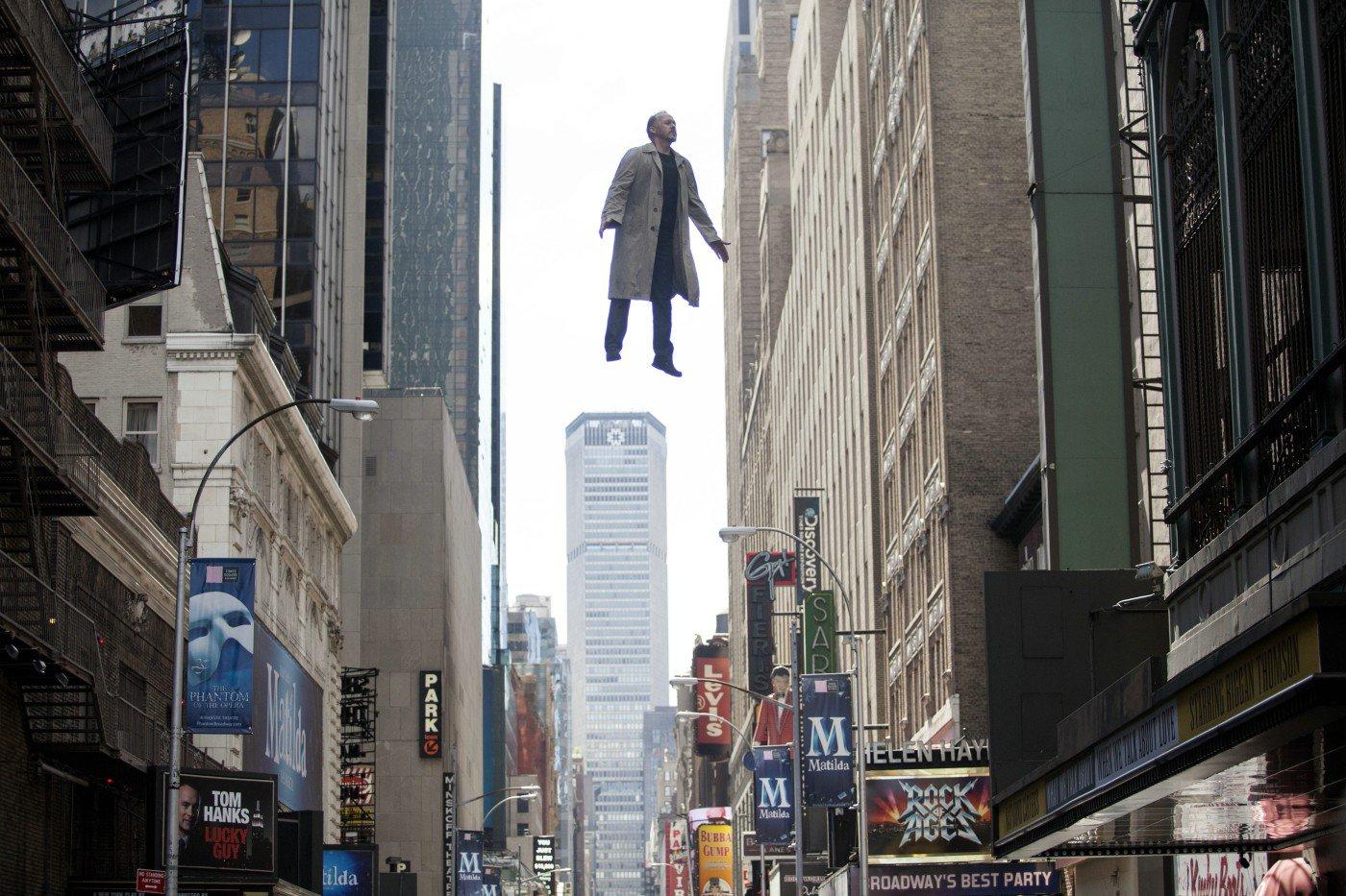 "Shot from the movie ""Birdman"""