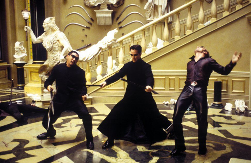 """Shot from the movie """"The Matrix: Reloading"""""""