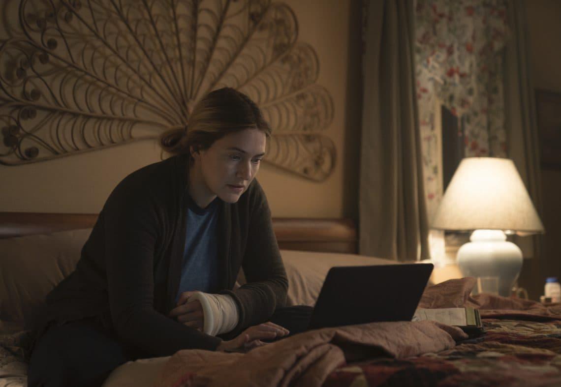 Кейт Уинслет в роли Мейр на кадре из сериала «Мейр из Исттауна»
