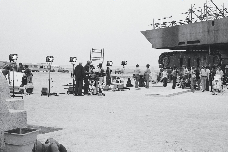 Съемочная площадка фильма «Звездные войны. Эпизод IV: Новая надежда»