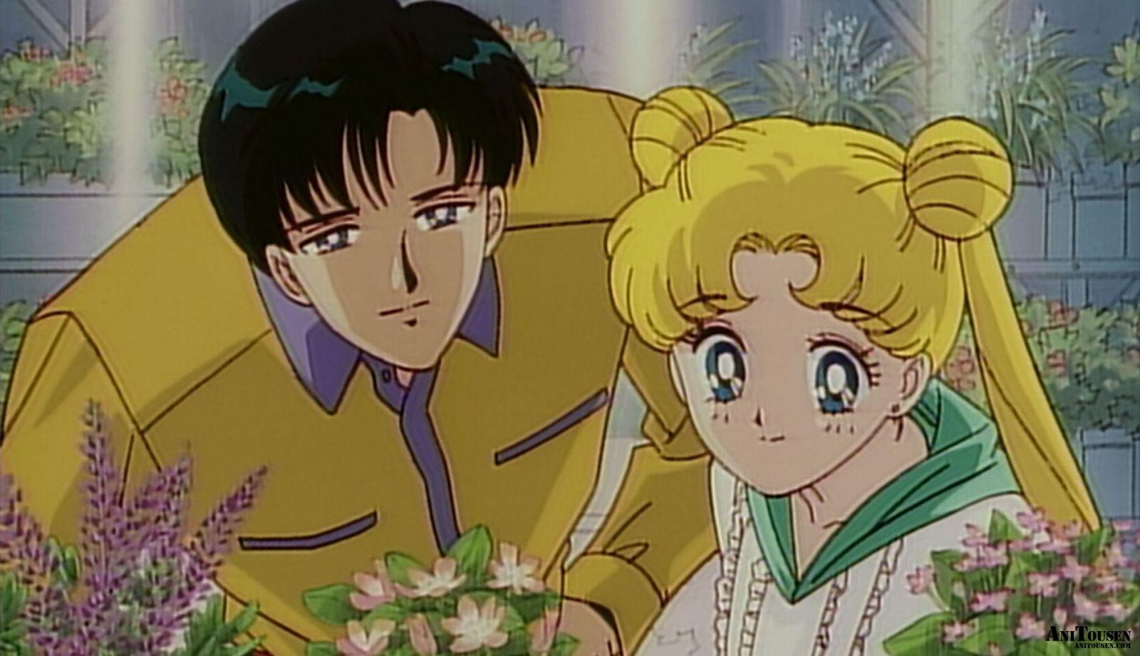 Кадр из аниме «Красавица-воин Сейлор Мун Эр»