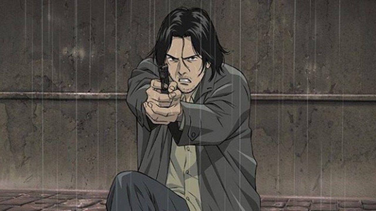 Кадр из аниме-сериала «Монстр»