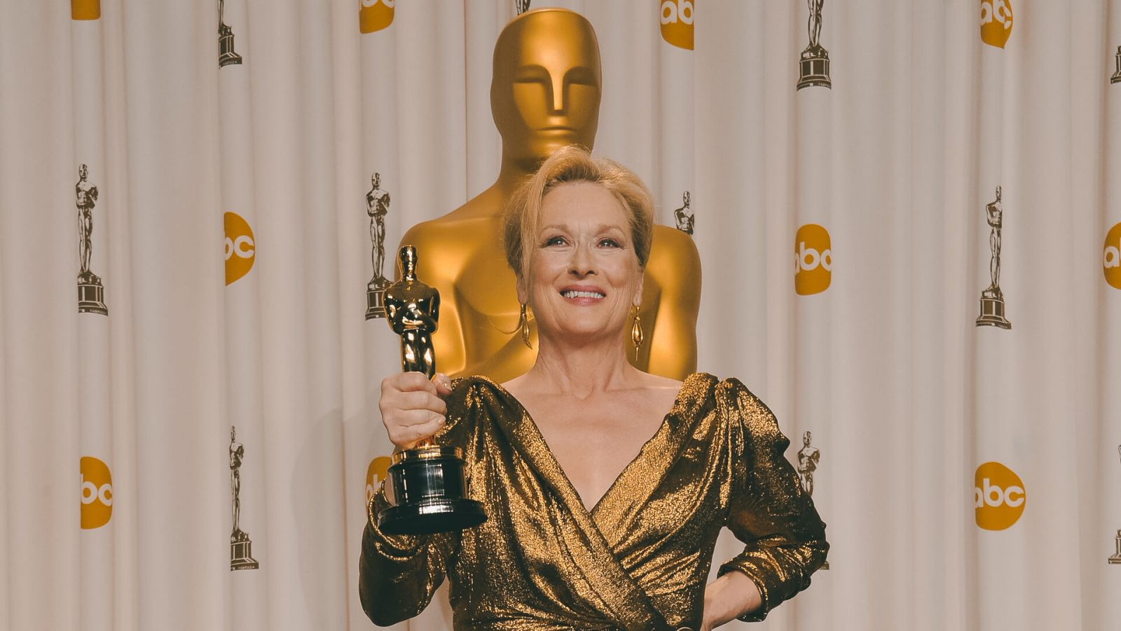 Мерил Стрип на премии «Оскар» 2012 года