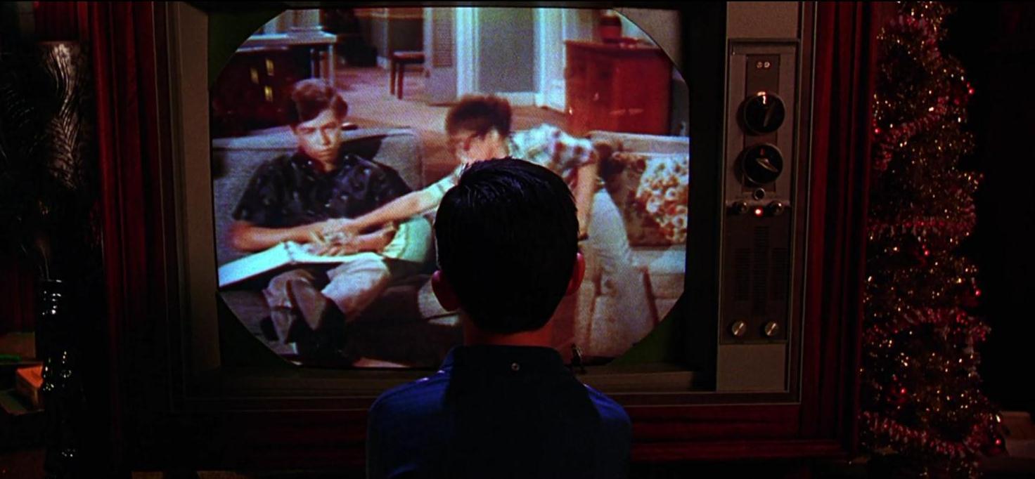 Камерон Старман в роли юного Чипа/кабельщика на кадре из фильма «Кабельщик»
