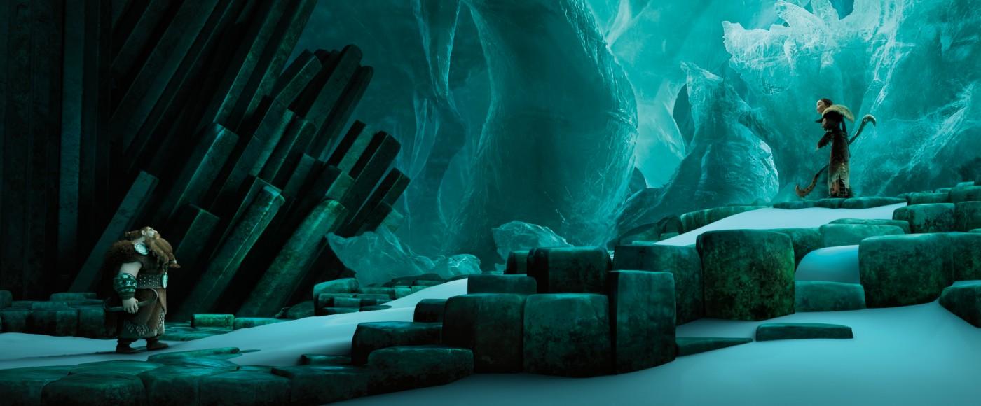 Кадр из мультфильма «Как приручить дракона 2»