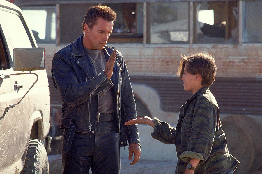 """Shot from the movie """"Terminator 2: Judgment Day"""""""
