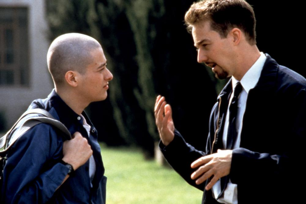 """Shot from the film """"American History of X"""""""