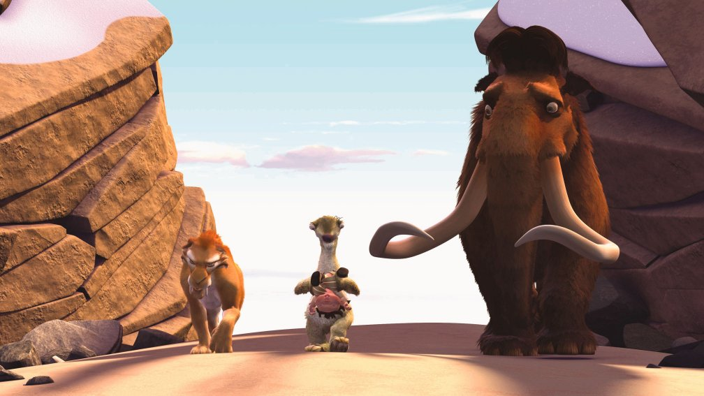 "A still from the cartoon ""Ice Age"""