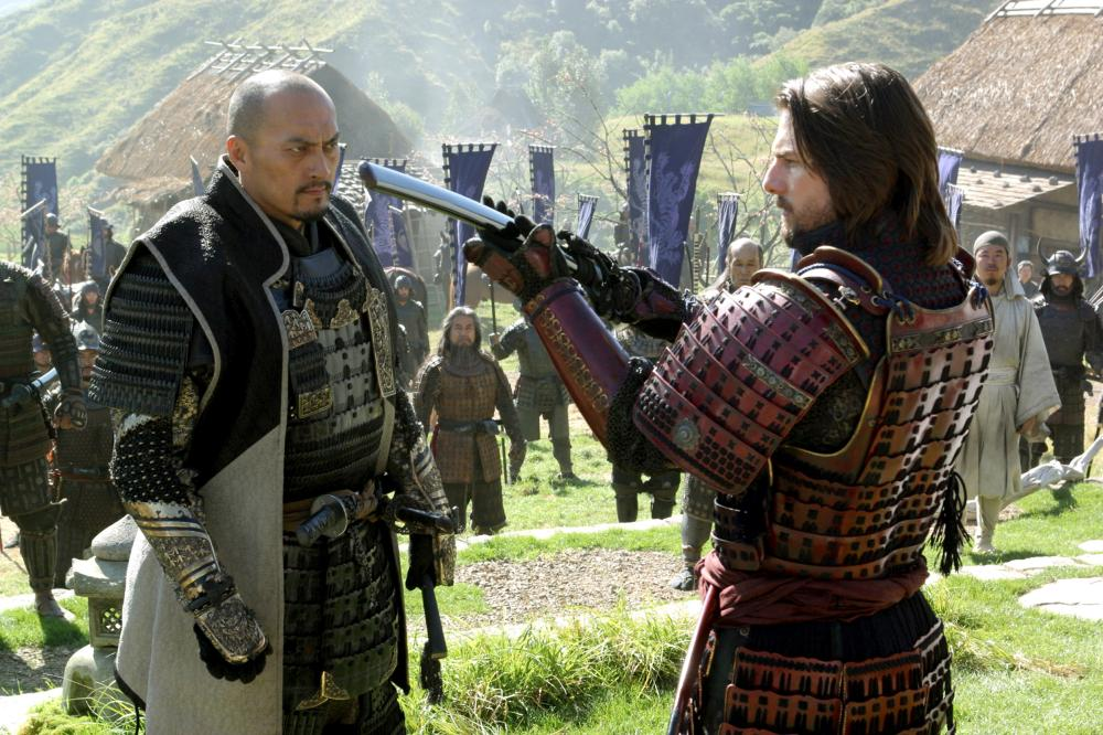"Shot from the movie ""The Last Samurai"""