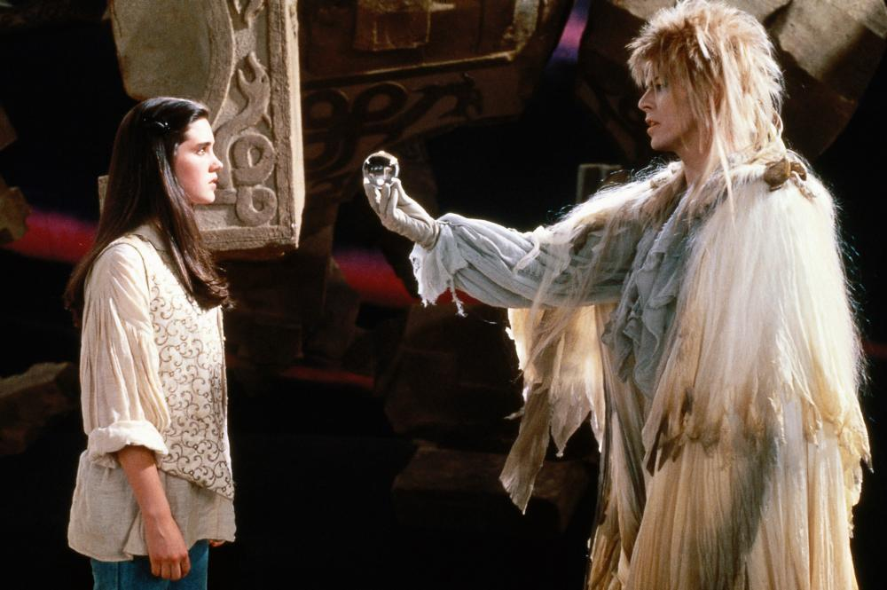 """Shot from the movie """"Labyrinth"""""""