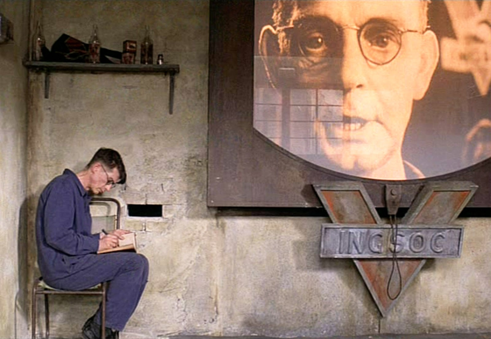 the use of technology in 1984 a novel by george orwell