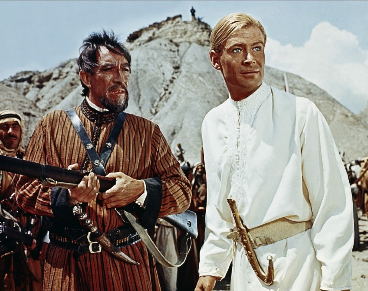 """Shot from the movie """"Lawrence of Arabia"""""""