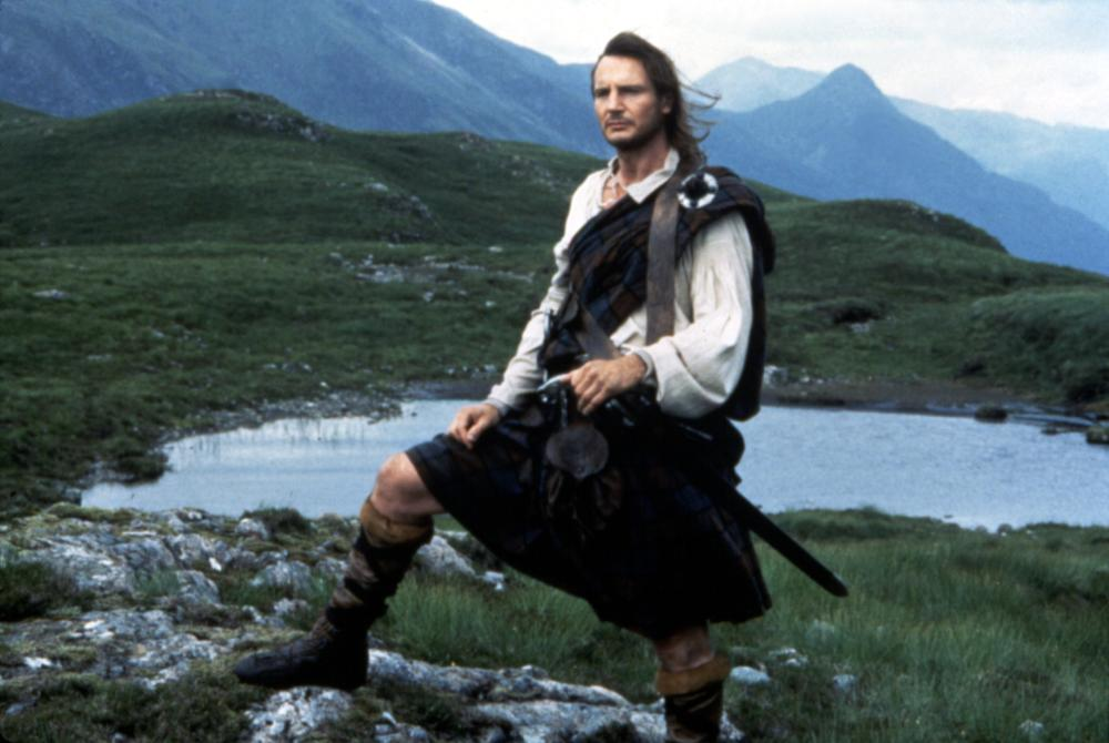 """Shot from the movie """"Rob Roy"""""""