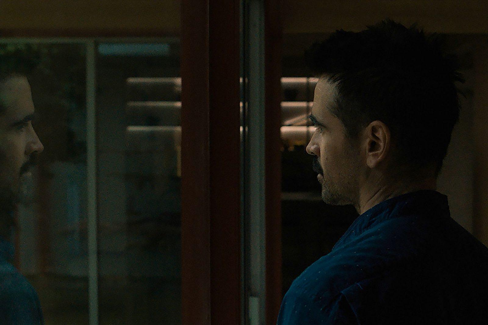 Колин Фаррелл в роли Джейка на кадре из фильма «После Янга»