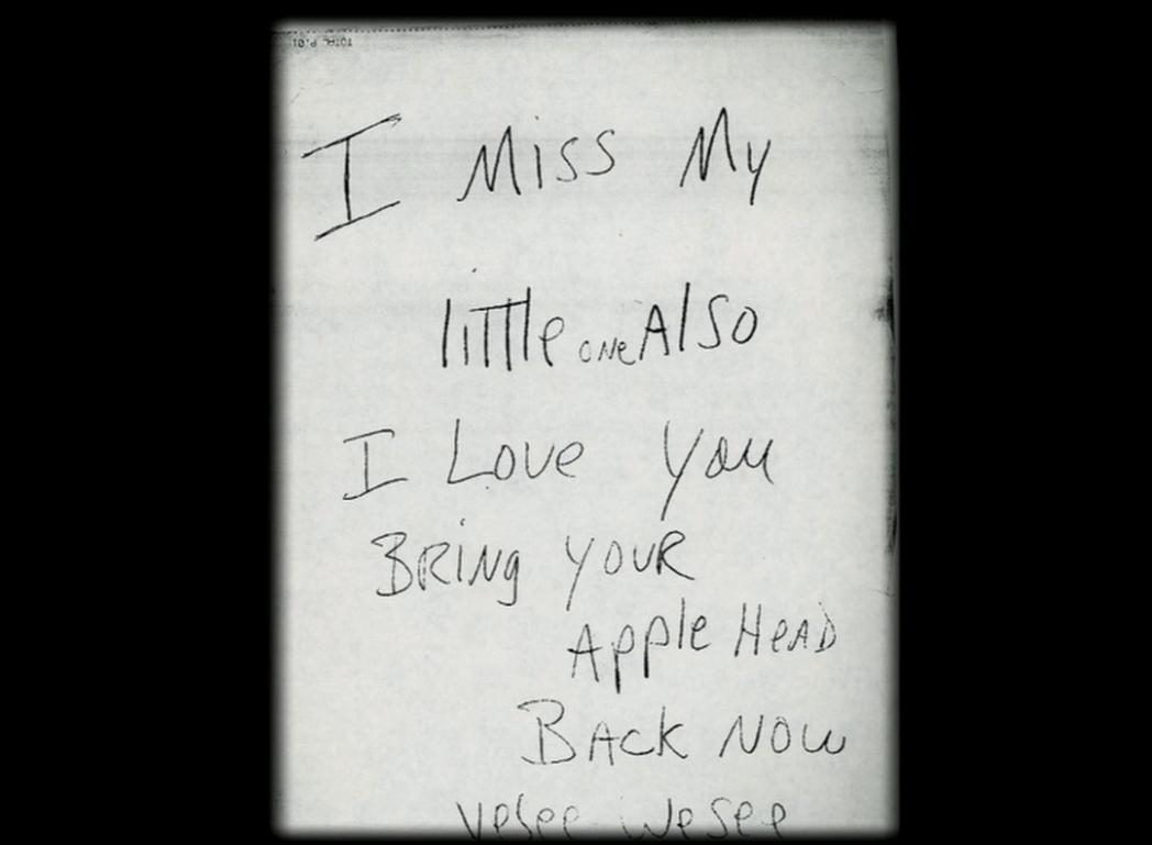 Одно из писем, которые Джексон присылал Робсону