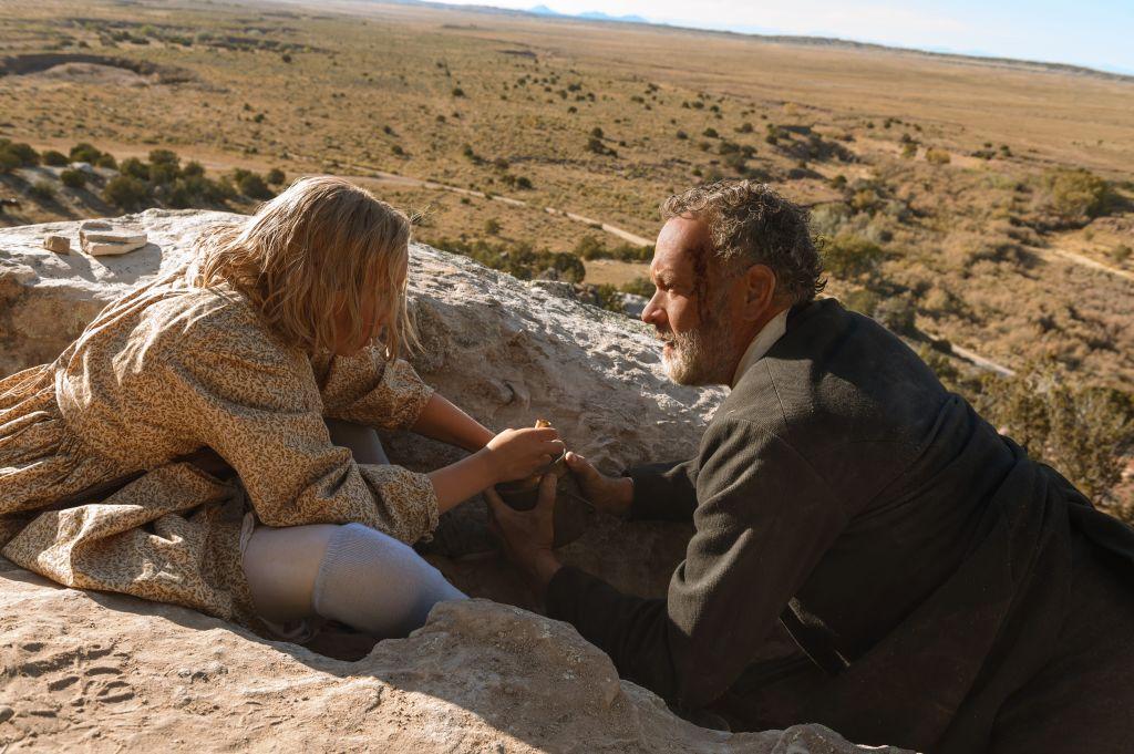 Хелен Зенгель в роли Йоханны на кадре из фильма «Новости со всех концов света»