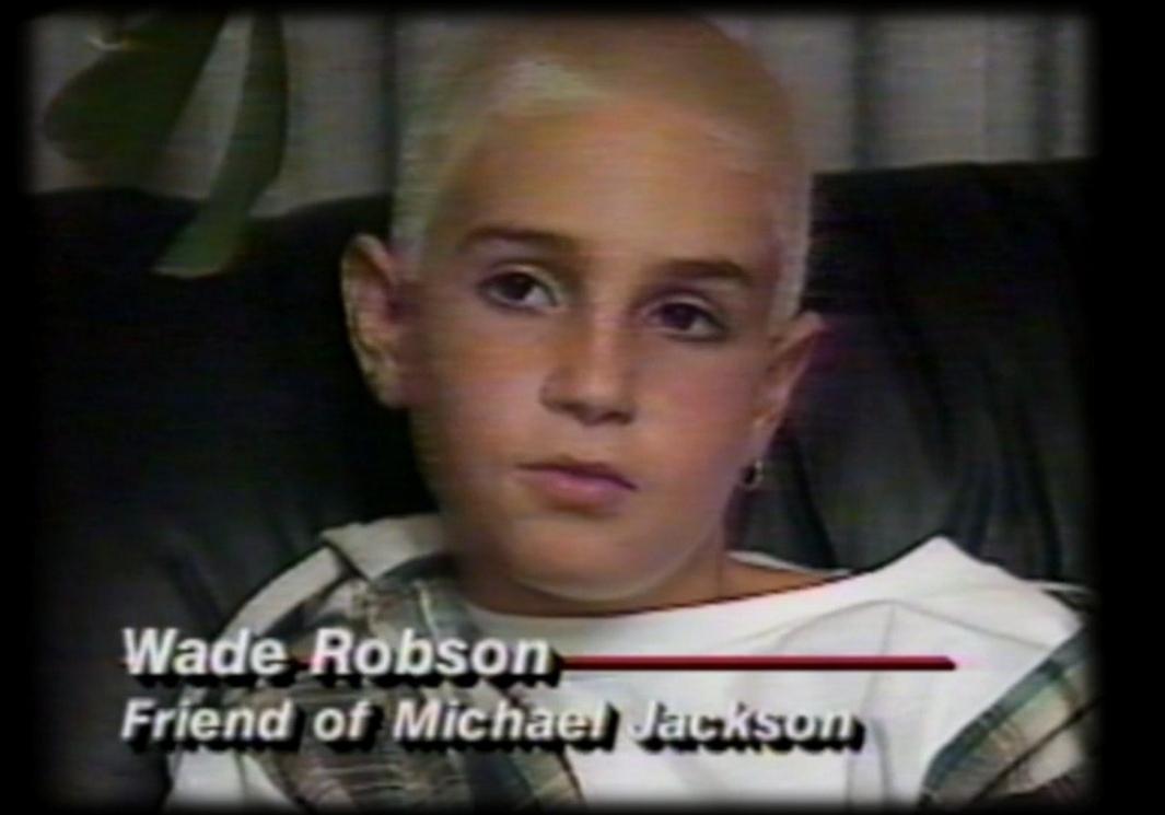 Уэйд Робсон дает интервью во время судебного процесса в 1993 году