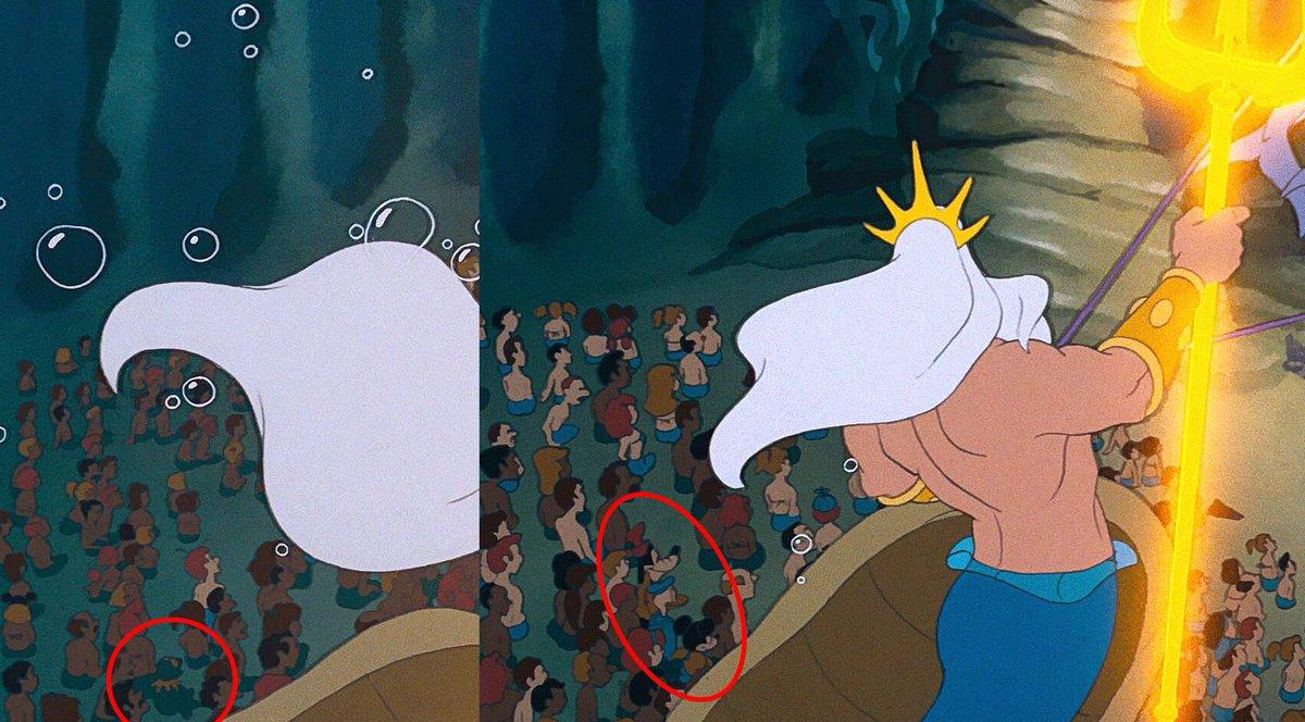 Кадр из мультфильма «Русалочка»