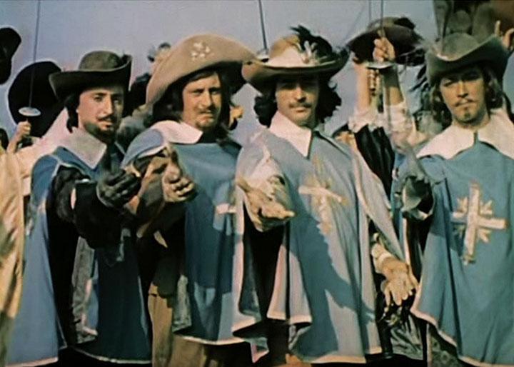 Дартаньян и три мушкетера серия 3 фильм